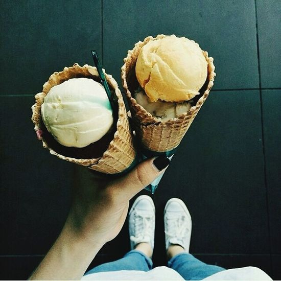 Ice Cream Summer Food Eat