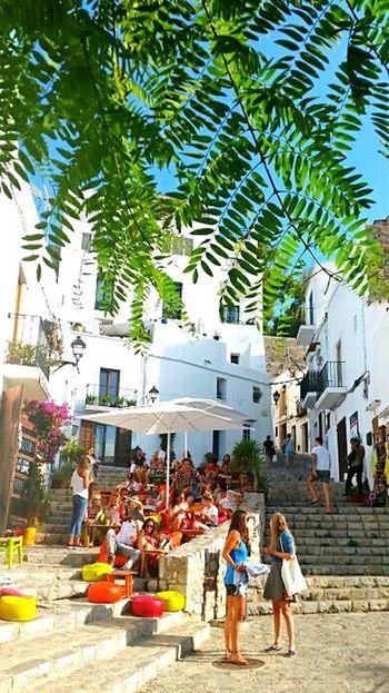 Eivissa Dalt Vila Chilling Coloroflife