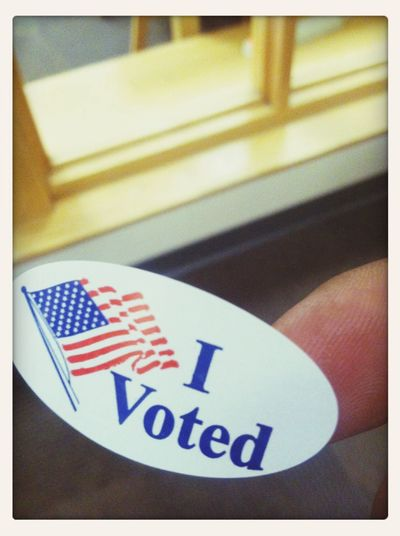 Voted early ...