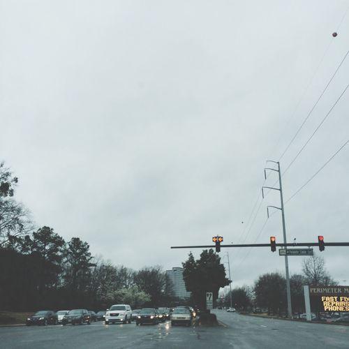Rainy Day in the ATL