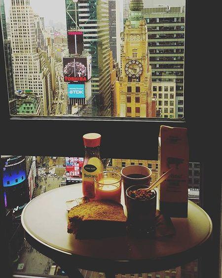 Morning Morningbreakfast Newyork NewYear Happynewyear 2016 & wait BallDrop