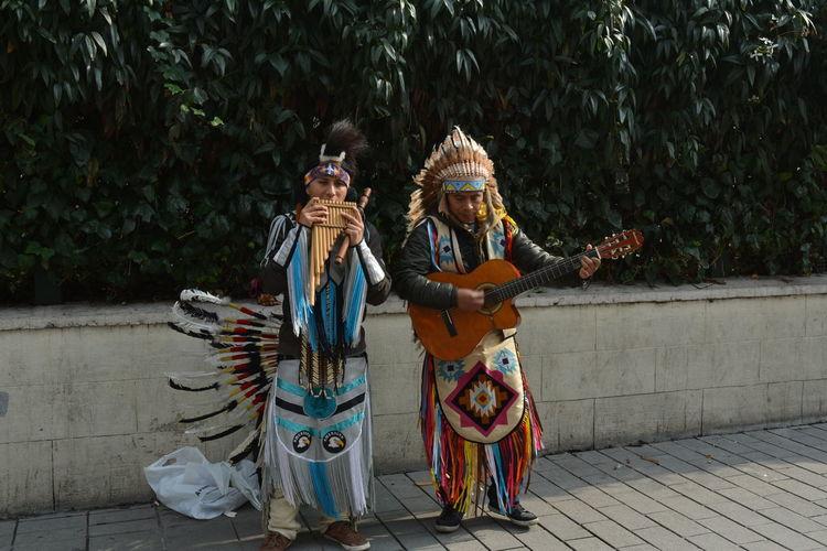 Nikon D5200 Streetart Musicians Indianstyle Istiklal