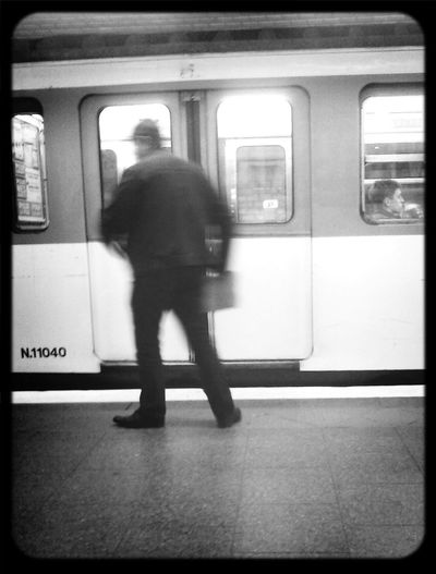 Escaping Monochrome People Black And White