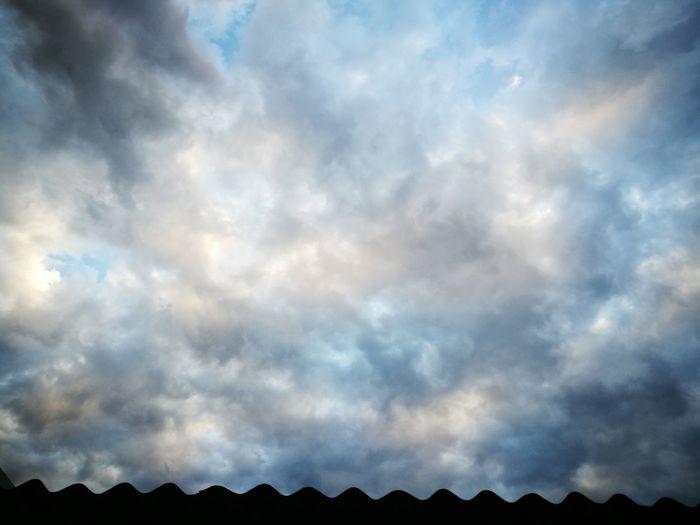 nubes con agua