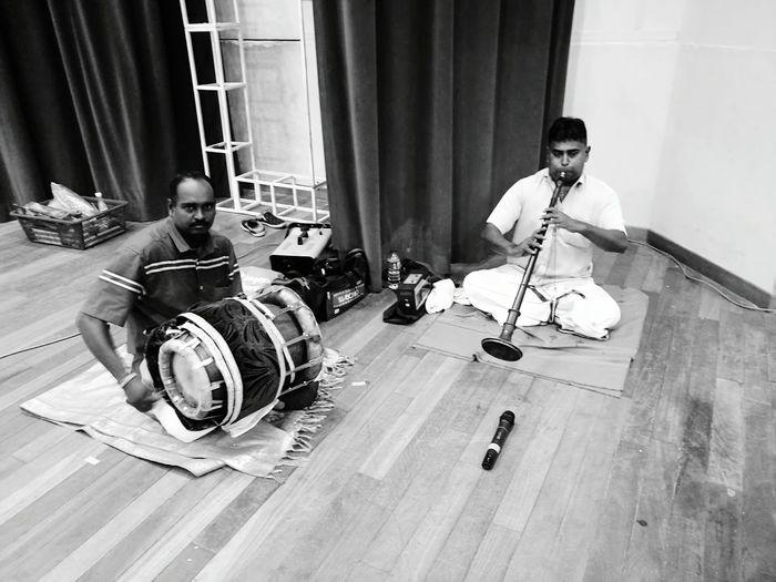 Traditional Indian music call NATHASWARAM