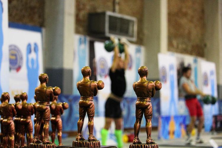 Campionato italiano FIKS Fiks Kettlebell  Jerk  Long Cicle Statue