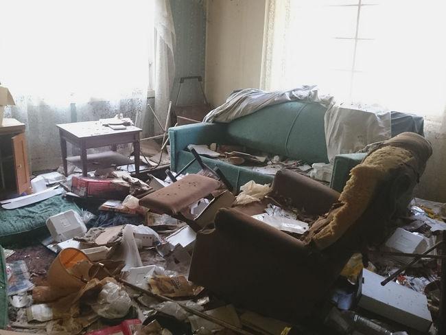 Abandoned Destruction EyeEm_abandonment Garbage Indoors  Messy No People Trashed Urban Exploration Waste Management
