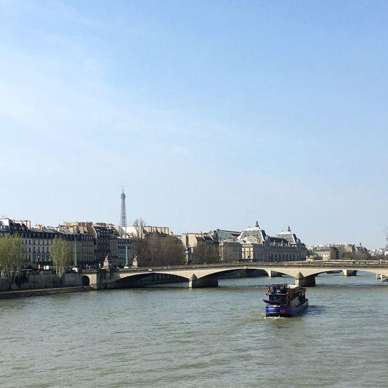 Paris Laseine Eiffeltower France