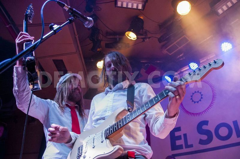 Swedish group Friska Viljor - April 2013 Madrid. Music Demotix Lawmoment  Friska Viljor