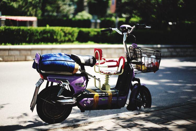 electrical bike Beijing China Streetphotography Enjoying Life Taking Photos Bike