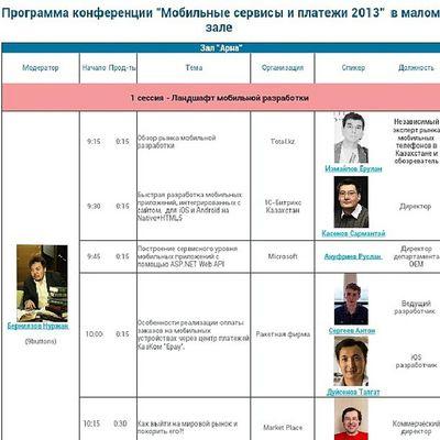 9 октября выступаю на международной конференции MobiEvent2013 . Повезло не только с темой доклада, но и со временем - я первый :)