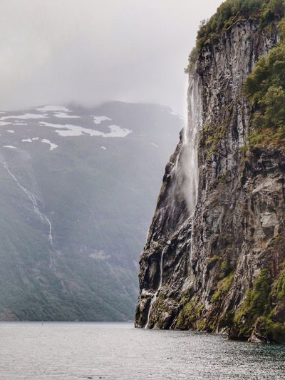 The Seven Sisters Waterfall | Geiranger | The Great Outdoors - 2016 EyeEm Awards Nature_collection EyeEm Nature Lover Enjoying Life Beautiful Nature Beautiful Destinations Landscape_Collection Travel Photography Classic Norway Visitnorway Nature Photography Norway Enjoying Nature L Norway