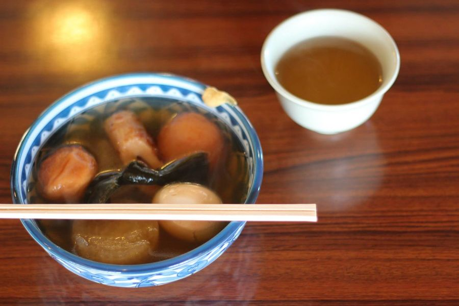 Asian Foods Dishes Japan Japanese Food Japanese Traditional Oden Asian Food Bowl Break Close-up Day Drink Food Food And Drink Healthy Eating Indoors  Japanese Foods No People Oyatsu Ready-to-eat Table