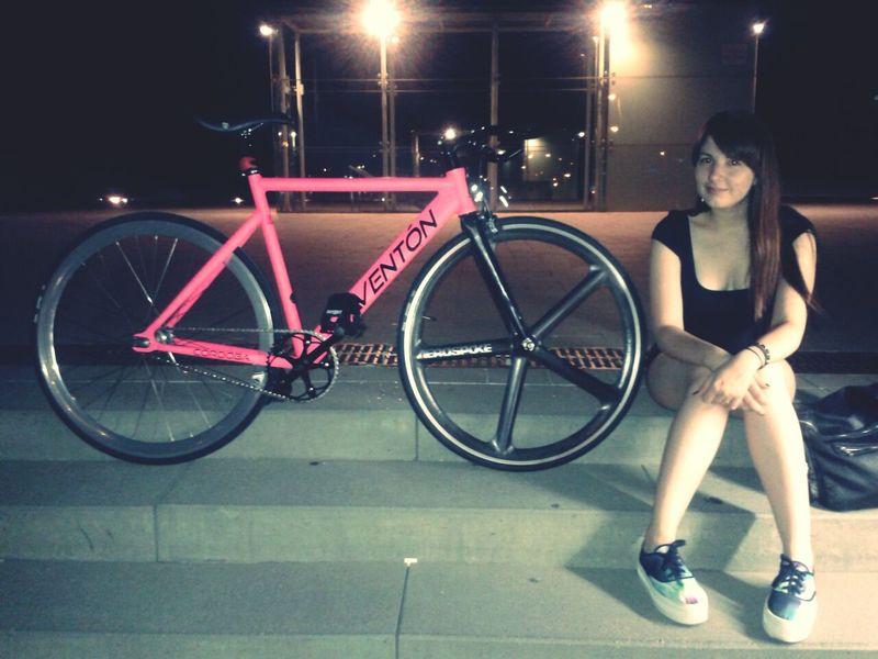 me and my bike: Mavka Fixie Fixieporn Fixie Life  Thats Me  Aerospoke Aventonbikes Fixedgirl City Bikes Bike Life Fixed Bike