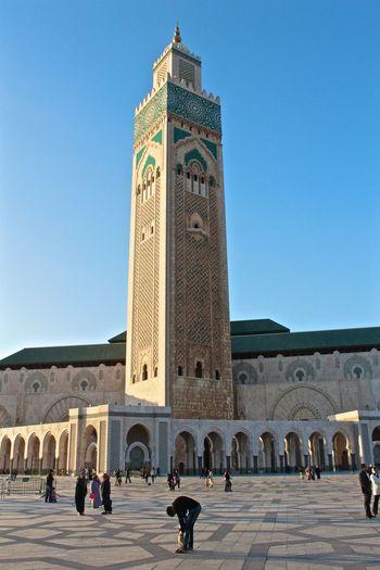 Casablanca, Morocco Moroccan Scenic Culture Building Hassan II Mosque Hassan 2 Architecture Islamic Arabic Details Pattern Architecture Casablanca Historic History Religion