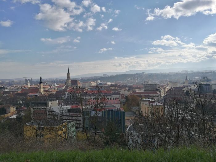 Morning hike Cityscape City Urban Skyline Outdoors No People Architecture Sky Day Building Exterior Cluj Cluj-Napoca Romania Beautiful Nature HuaweiP9 Leicacamera Huawei