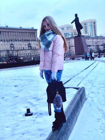 Cold Temperature Real People Leisure Activity Winter Full Length Lifestyles One Person