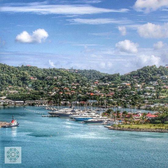 Port Louis Marina - St. Georges /Grenada St_georges 2012 Carebean Holiday memories travel cruise costa mediterranea grenada harbour marina