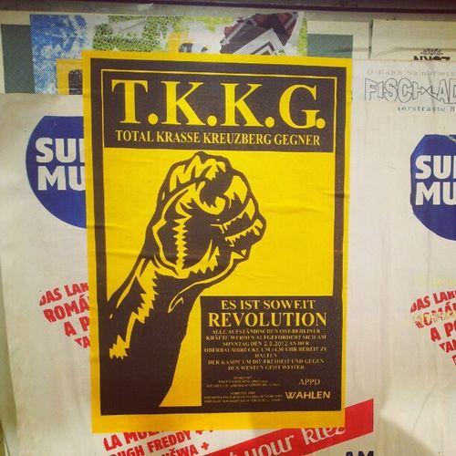 Nie wieder Kreuzberg! Tkkg Appd Berlin Revolution Kreuzberg Friedrichshain