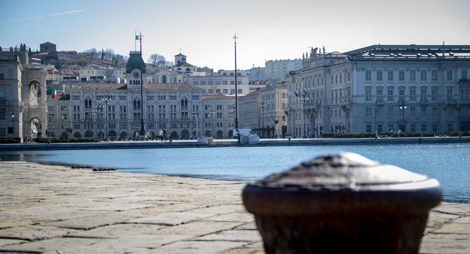 Square Unità d'Italia - Trieste - Italy Holiday Italia Italy Molo Audace Sea Sea And Sky Travel Travel Destinations Traveling Trieste Trieste Piazza Unita Trip