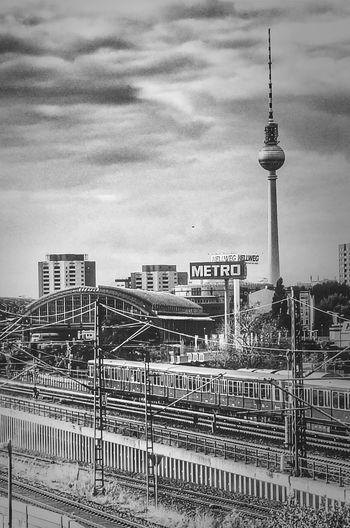 Not beautiful - but I like it! :-) Berlin Blackandwhite Monochrome Monochrome_Monday