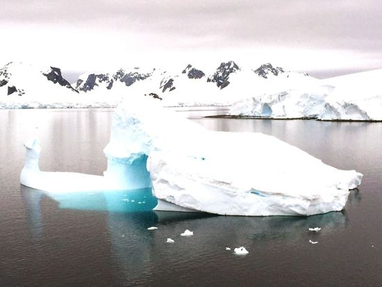 Traveling In Antartica Iceberg Nature Peaceful View Awesome