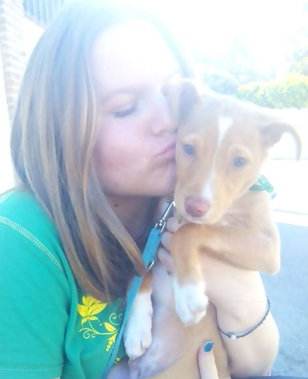Hi! That's Me Dog Smile ✌ #blonde #russian #cute Chuso?❤