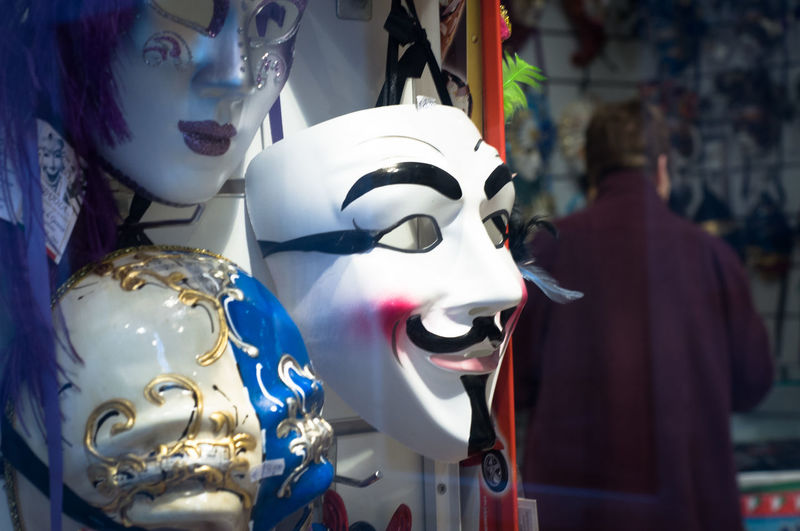 Carnival Spirit Close-up Discover Venice For Sale No People Retail  Store Travel Photography Venetian Mask Venice Travel