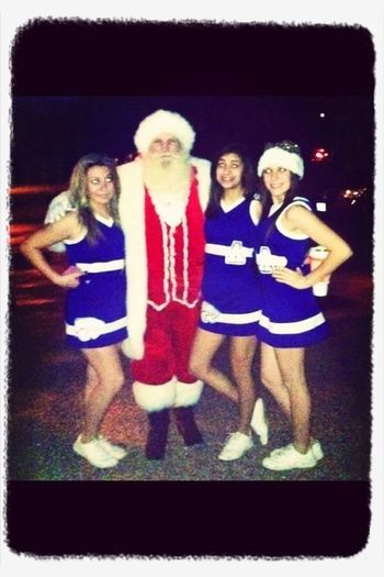 Picture with Saint Nick #throwback