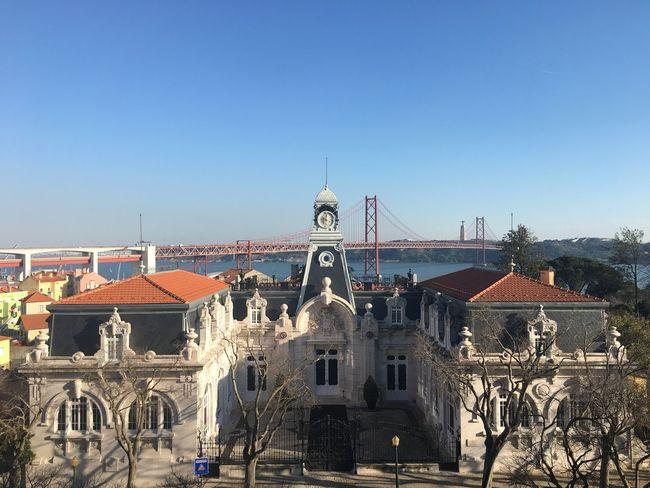Beautiful Lisbon Check This Out Lisbon Lisboa Lisboa Portugal Blue Sky Sunshine