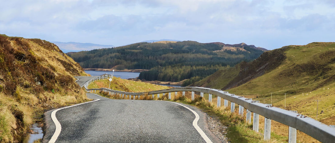 Beautiful Scotland Travel Adventure Beauty In Nature Countryside Curve Day Landscape Mountain Nature No People Outdoors Peaceful Road Road Trip Scenics Serene Single Lane Road Solitude The Way Forward Tranquil Scene Tranquility Transportation Winding Road