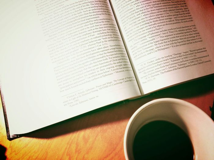 Some folks like theology over coffee but I think they are equally important. Coffee Theology