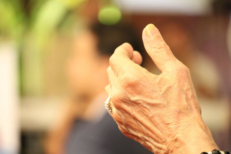 Close-up Gesturing Hand Worshipping Praisi Human Hand One Person Real People