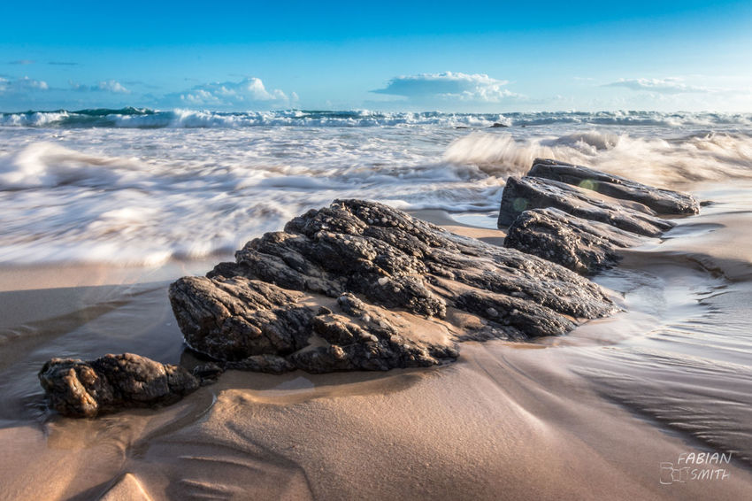 Sea the drama Dramatic Sky Dramatic Rock Formation Rock Pools Sardinia Ocean EyeEm Selects Beach Sea Sand Cloud - Sky Landscape Blue Sky Travel Destinations Sunset Horizon Over Water Wave Long Exposure Outdoors Water Nature Scenics Beauty In Nature No People