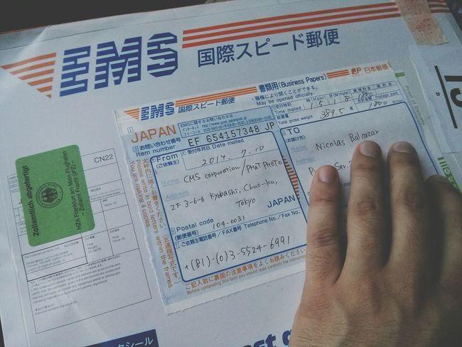 Yay, Mail from Japan ! Thanks Phat Photo & EyeEm Team !