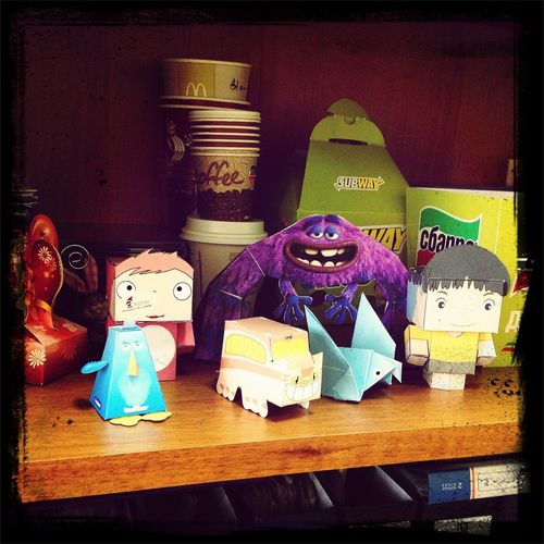 Оригами...скучно на работе:(