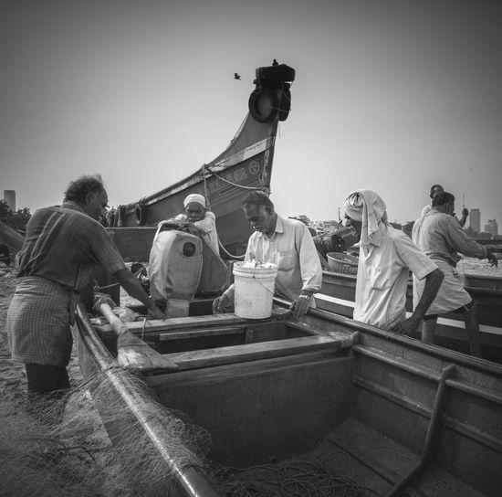 Fishermen at