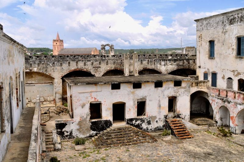 Fort William Fort Anomabo Slave Trade Castle Anomabo Castle Fort William Ghana Africa Slave Trading Slavery Slave History Historical Building Historical Monument Ashanti Fishing Village Ruins Ruins Of A Castle Gold Coast West Coast Colonial Architecture Colonialism