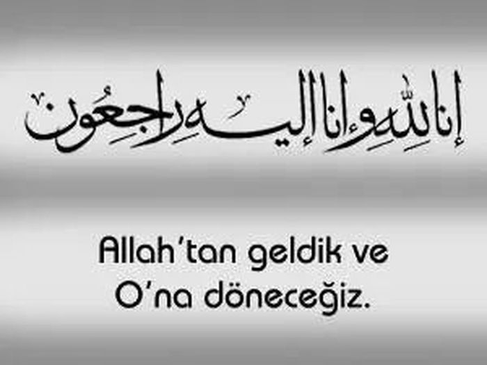 Soma Allah Allah Rahmet Eylesin Turkey