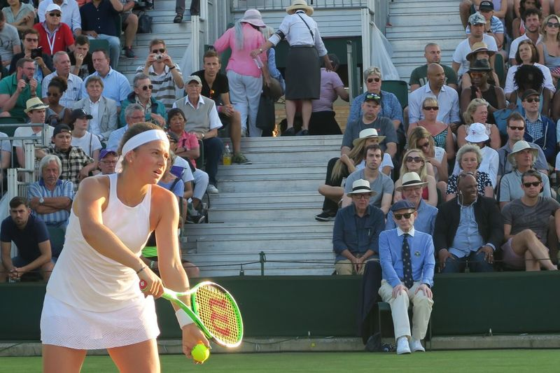 Crowd Crowd Watching Day Grass Jelena Ostapenko Large Group Of People Laughing Leisure Activity Lifestyles Men Outdoors People Real People Serve Standing Sunlight Tennis Tennis Ball Tennis Racket Tennis Racquet Tennis 🎾 Tenniscourt Togetherness Wimbledon Women