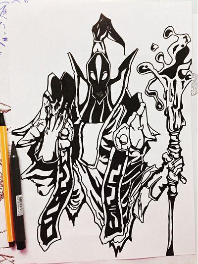 De novo! Dota Dota2 Brazilian Art Desenho Draw Drawing Dota 2 Game