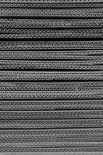 Backgrounds Black And White Close-up Day Full Frame Indoors  Industry No People Package Paper Carton Pattern Texture