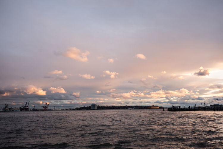 Beauty In Nature Cloud - Sky Day Nature Nautical Vessel No People Outdoors Scenics Sea Sky Sunset Tranquil Scene Tranquility Transportation Water Waterfront