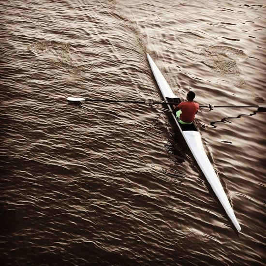 Full Length Sport Water Oar Outdoors Men One Person River Motion Nature Challenge People Only Men Extreme Sports Adult One Man Only Adults Only Day Rowing Sculling capibaribe river recife