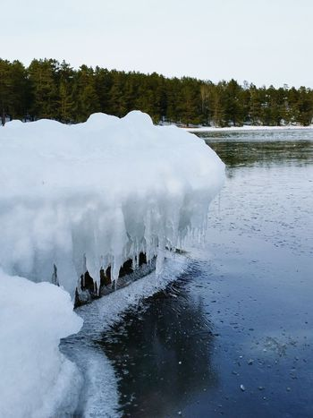 Frozen Water Ice Seaside No People Cold Temperature Winter Nature Outdoors Snow Beauty In Nature
