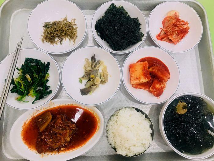 푸짐해 집이생각나 따끈한아침 집밥오천냥 Plate Bowl Food Variation Food And Drink Table Indoors