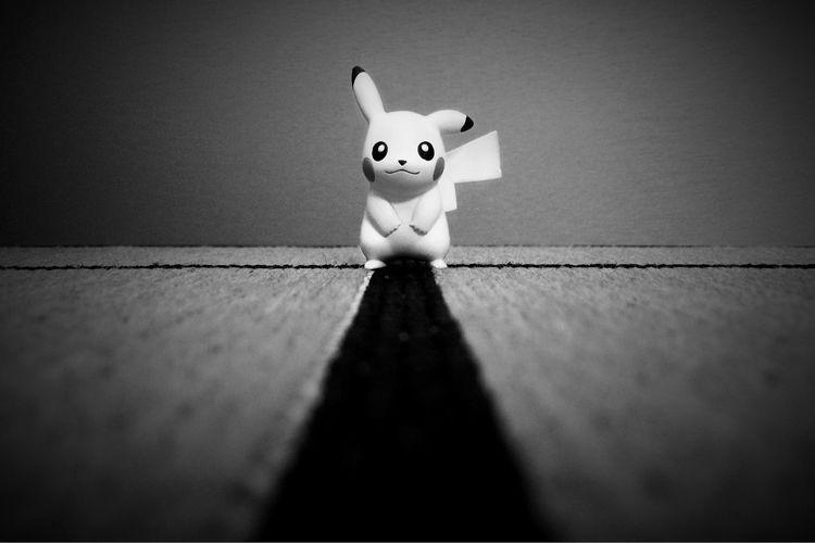 """Pika?"" Blackandwhite EyeEm Bnw NEM Black&white NEM Submissions Shootermag AMPt_community Portrait Pokémon"