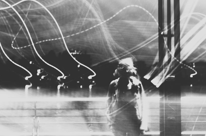 Shutter speed troubles. One Person People Blackandwhite Monochrome Motion Capture The Week On EyeEm