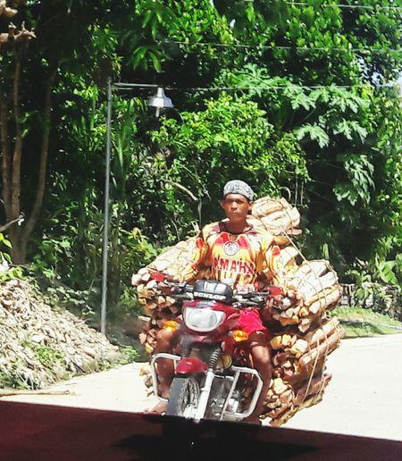 Here Belongs To Me Habal-habal Localtransport Localpeople Localscene Business Biliran Island, Philippines