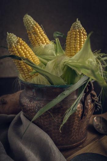 Corn in a